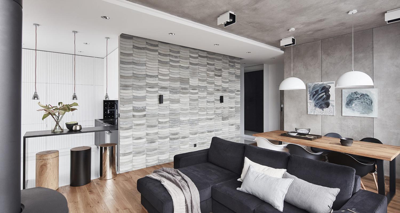 TEKT Wave modern apartment interior